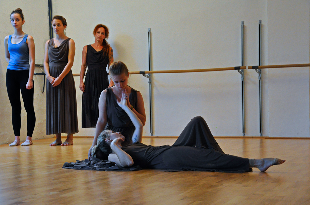 Tanztheater Momentum - Probe von Le Sacre du printemps im Theater & Co.